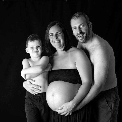 servizio fotografico maternità in studio